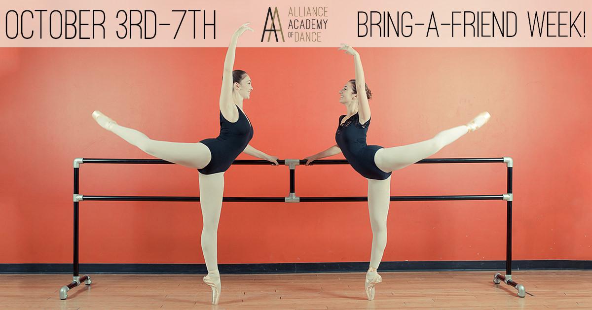 Alliance Academy of Dance Bring a Friend Day