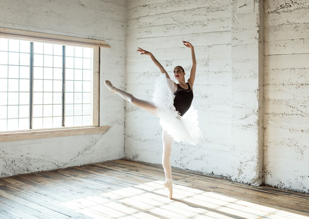 Photo: Former AAD student, Aubrie Nield; currently at University of Utah Ballet Program